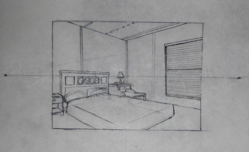 Two Point Perspective by MoogieMay Browsing Landscapes Scenery on  DeviantArt  Two Point Perspective Room. 2 Point Perspective Bedroom