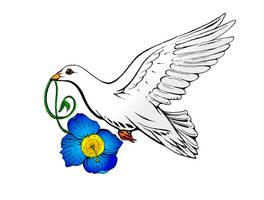 Gina's Italian Poppy Dove by J-Micah-Nelson