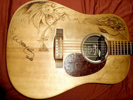 Logan's guitar 1 by J-Micah-Nelson