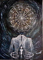 Cymatic Painting 9 by J-Micah-Nelson