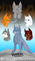 Bluestar's Prophecy Poster by RiverBelle