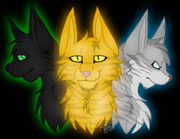 The Three by RiverBelle