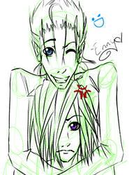 Zemyx Sketch by Kiyoshi-Hime