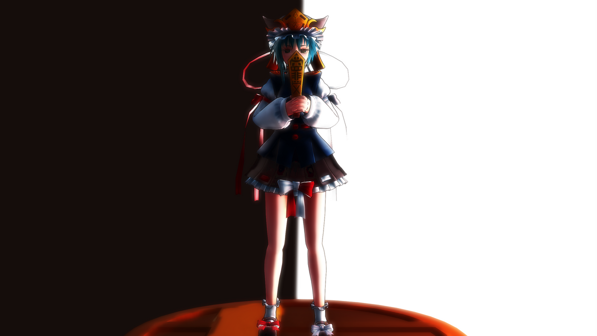 Smash Bros Trophy Shiki Eiki 2560x1440 by headstert
