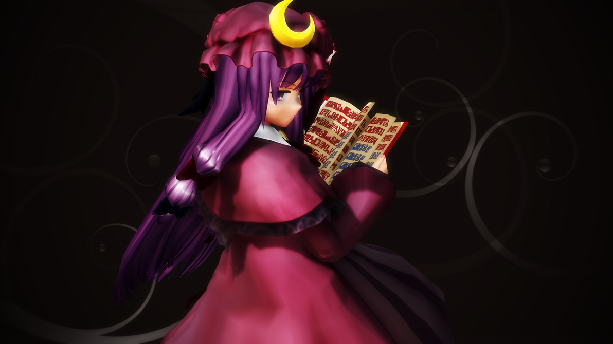Ingame Re-creation Patchouli Knowledge SWR 16:9 by headstert