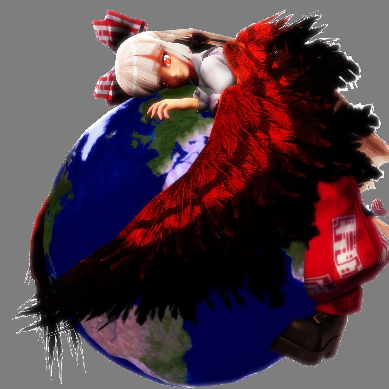 Firefox Mokou Icon by headstert