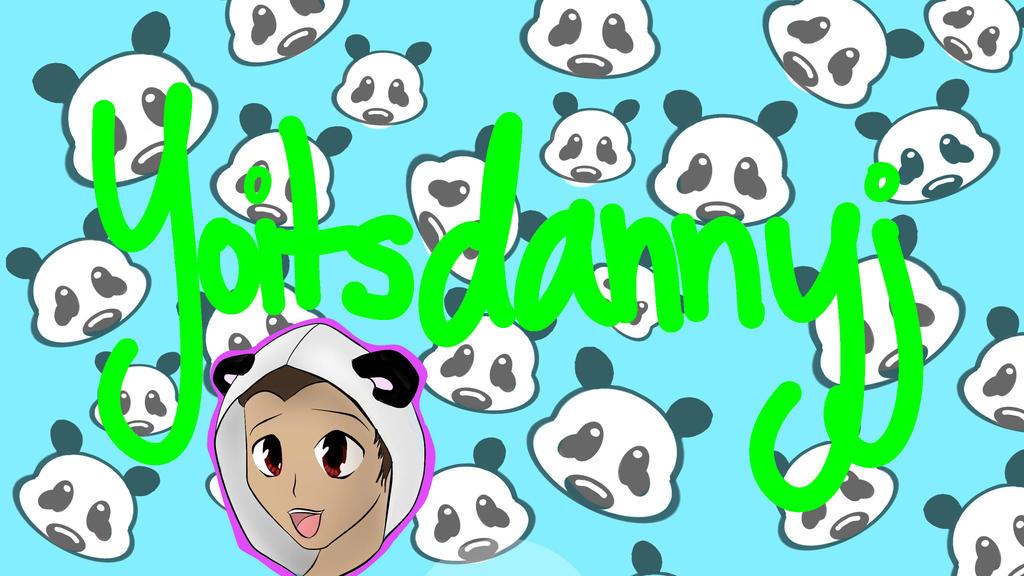 Dannyj Youtube Banner ^-^ by ScarlettNovel