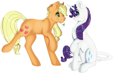 Will You Be Mine, Rarity? by EmilyWulfStudios