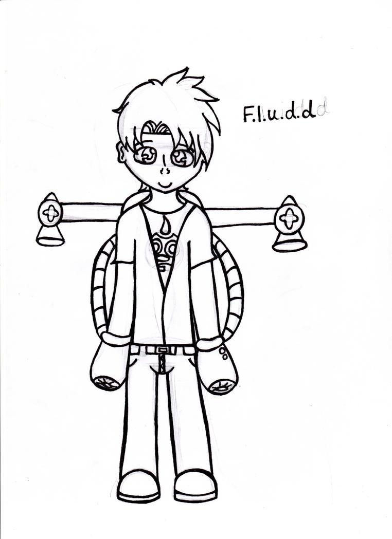 Human F.L.U.D.D by SonicFangirl20