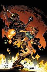 Tomb Raider #21 Cover