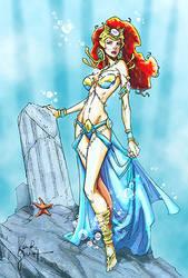 Atlantean Princess by napuaahina