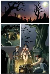 Vampirella Sample, interior page by napuaahina