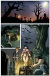 Vampirella Sample, interior page
