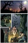 Vampirella Sample, interior page