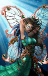Metalynne the Steampunk Fairy (color)