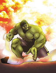 Hulk by napuaahina