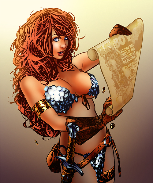 Red Sonja by napuaahina