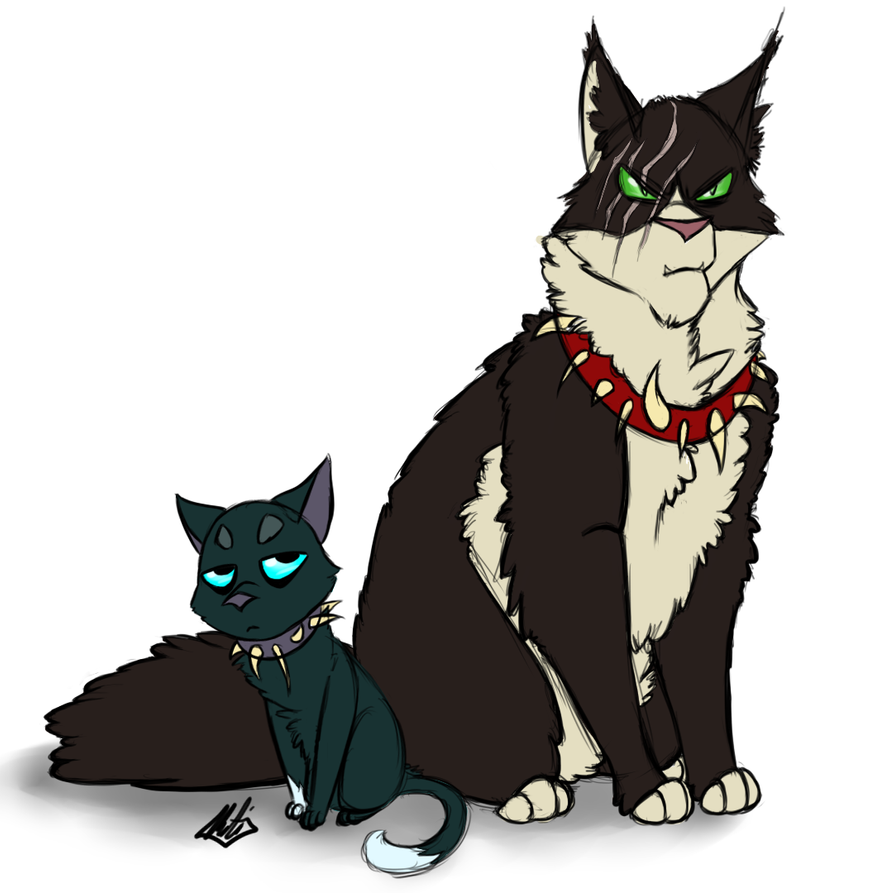Warrior Cat Scourge Coloring Pages
