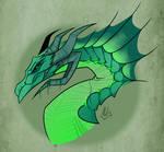 Dragon Queen- Empress Kaleign FanArt