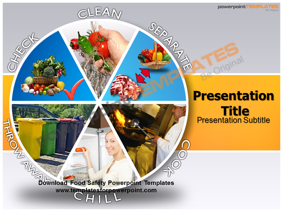 health and safety powerpoint templates - food safety powerpoint templates templatesforpow by