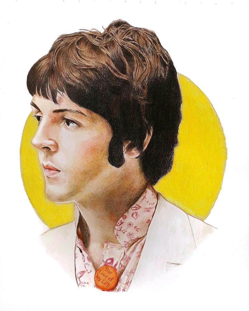 The Beatles Paul McCartney 1967 By Undreamlike