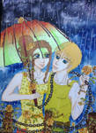 reuqest- Collie-  Dance in the rain... by Etsuko-Hime