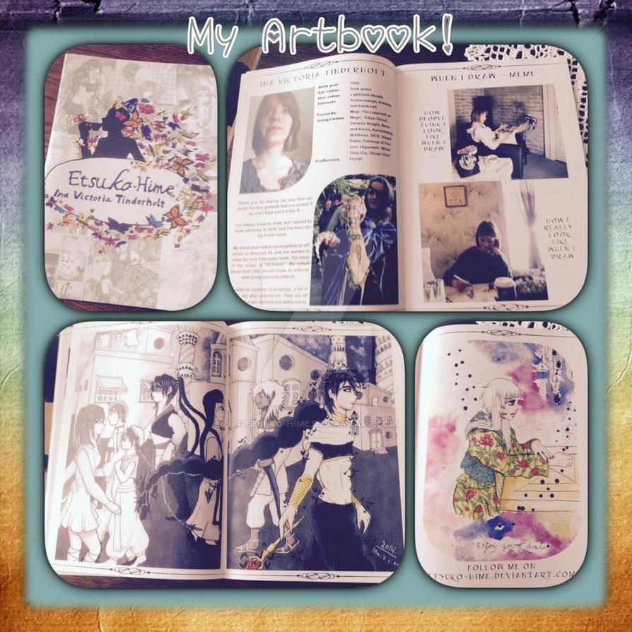 My Artbook by Etsuko-Hime