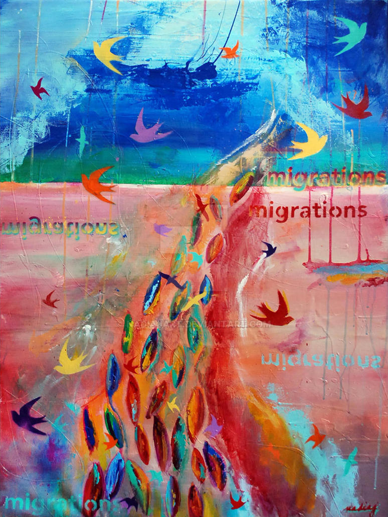 Migrations by nadiajart