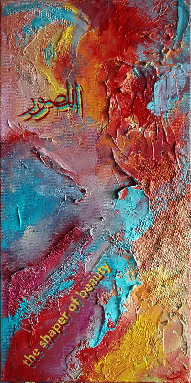 Red Shaper of Beauty by nadiajart