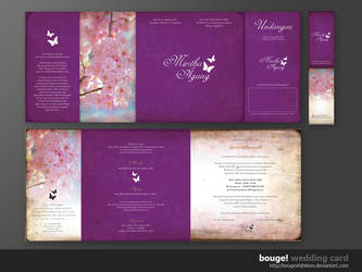 wedding card 012 by bougexhibition