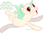 Mlp pony base #26 - Look, I'm flying!