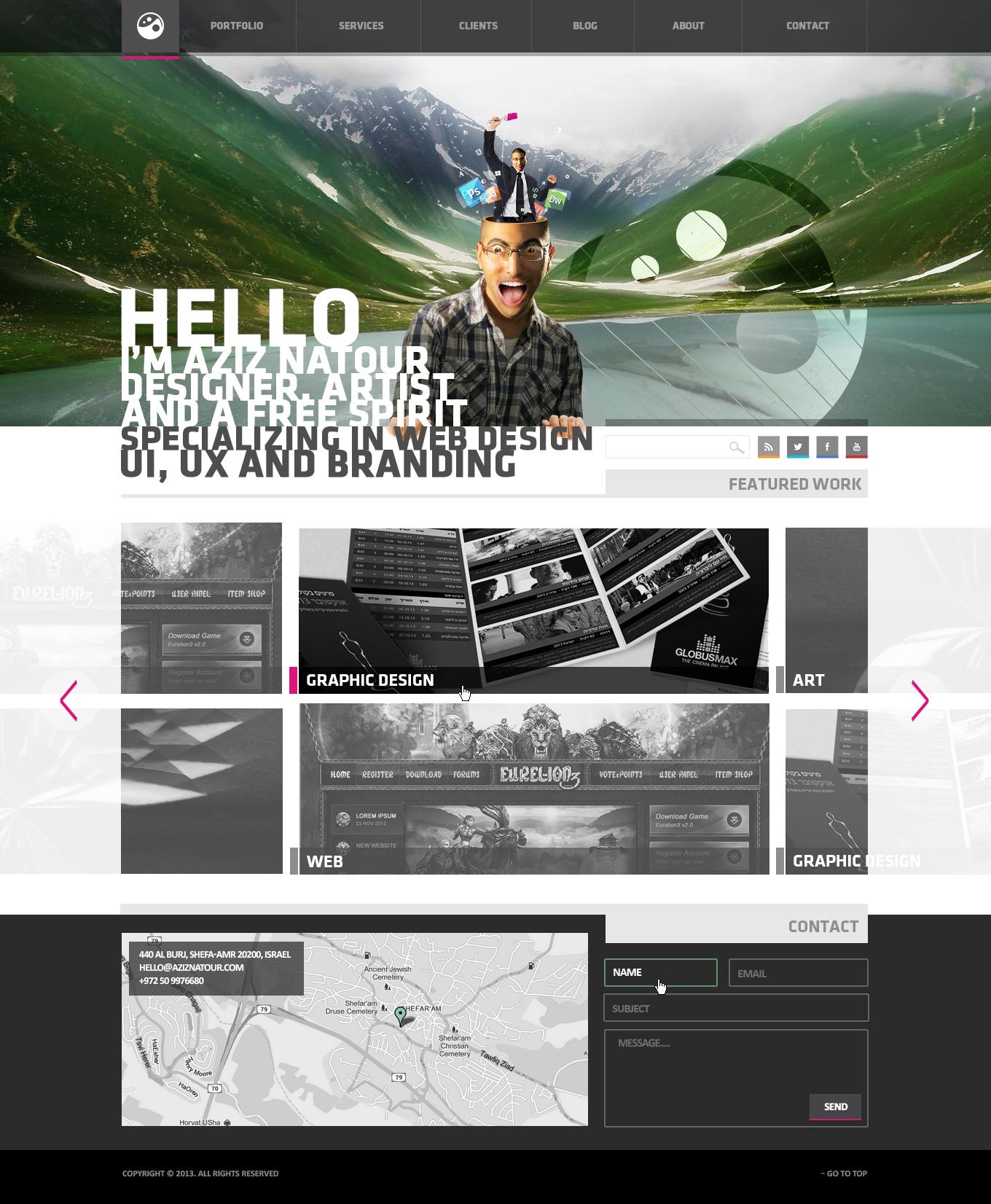 Personal Webdesign 3 by AzizNatour