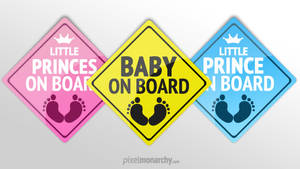 Baby On Board Badge by vesthar