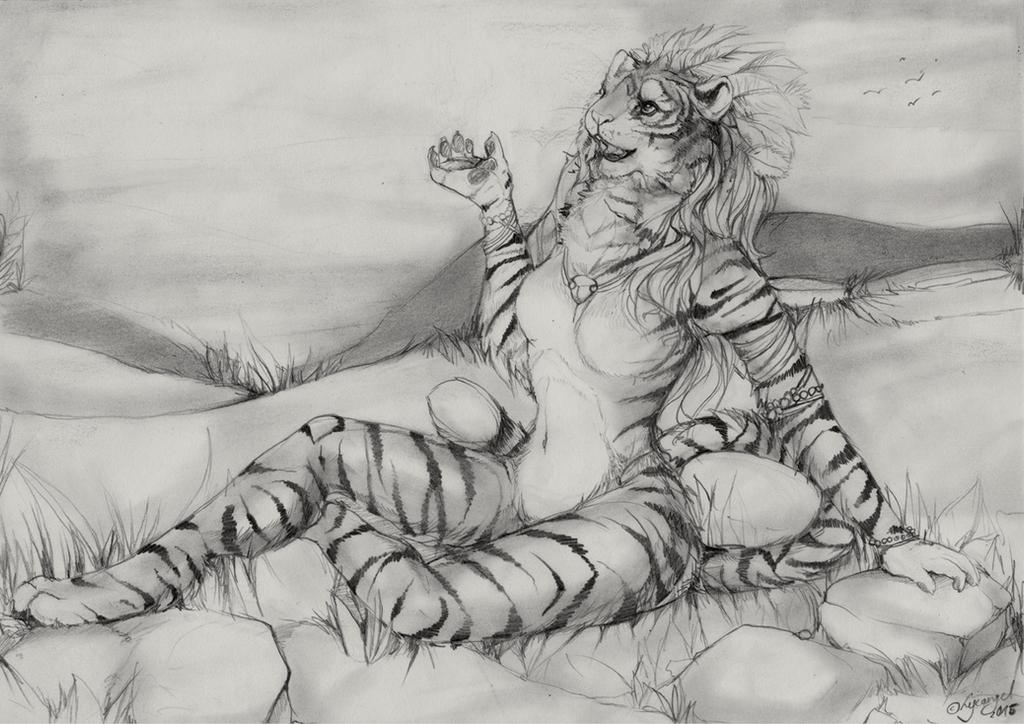 Tigress by lycangel