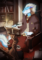 Studying magic by lycangel