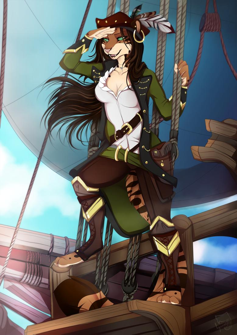 Pirate lady by lycangel