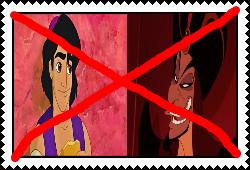Anti Aladdin And Jafar Stamp by Carriejokerbates