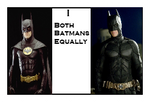 I Love Both Batmans Equally Stamp by Carriejokerbates