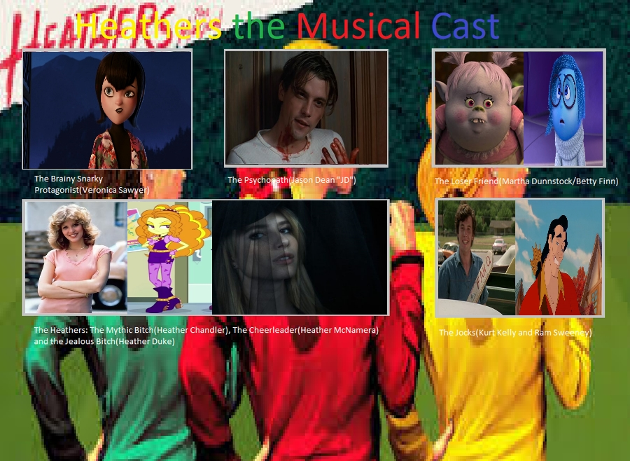 My Heathers The Musical Meme By Carriejokerbates On Deviantart