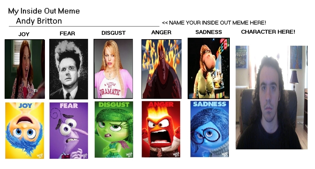 Andy's inside out meme by Carriejokerbates