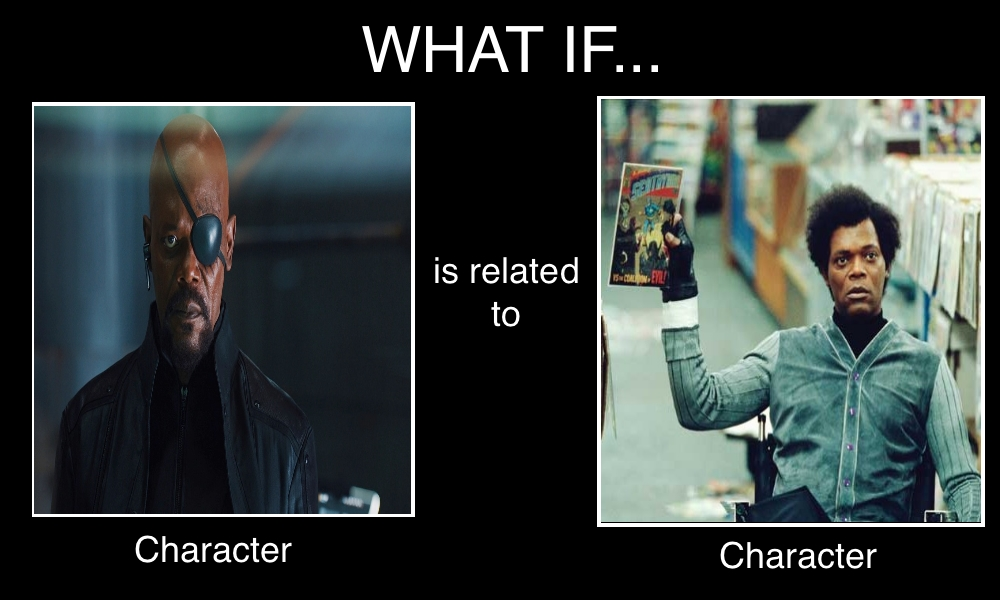 What if Nick Fury x Elijah Price Are Related by Carriejokerbates