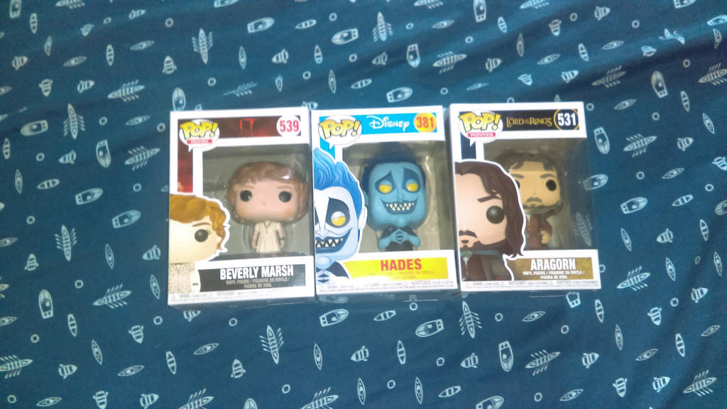Funko Pops by Carriejokerbates