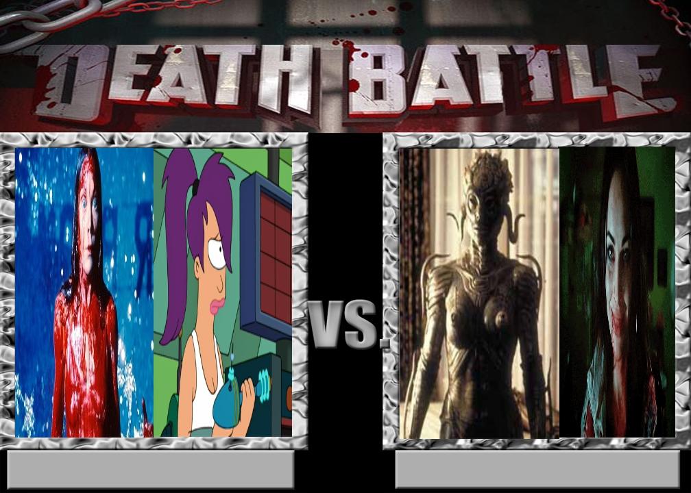 Carrie x Leela vs Jennifer x Sil by Carriejokerbates