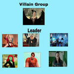My Villain Group by Carriejokerbates