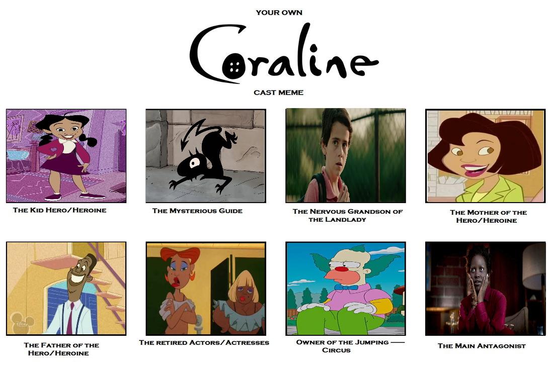 Pennyline Coraline Cast Meme By Carriejokerbates On Deviantart