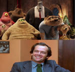 HT Monsters See Who Jack Torrance by Carriejokerbates