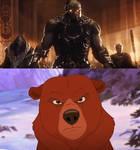 Kenai vs Darkseid
