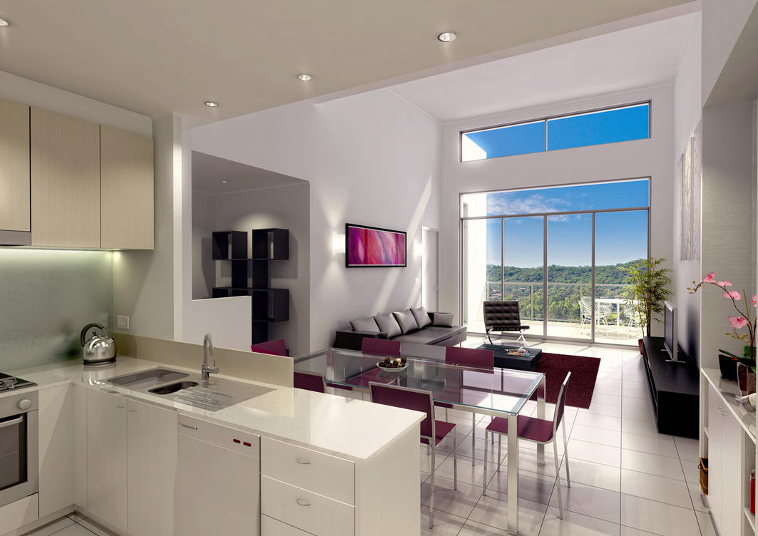 Apartment interiorx by fraher-david