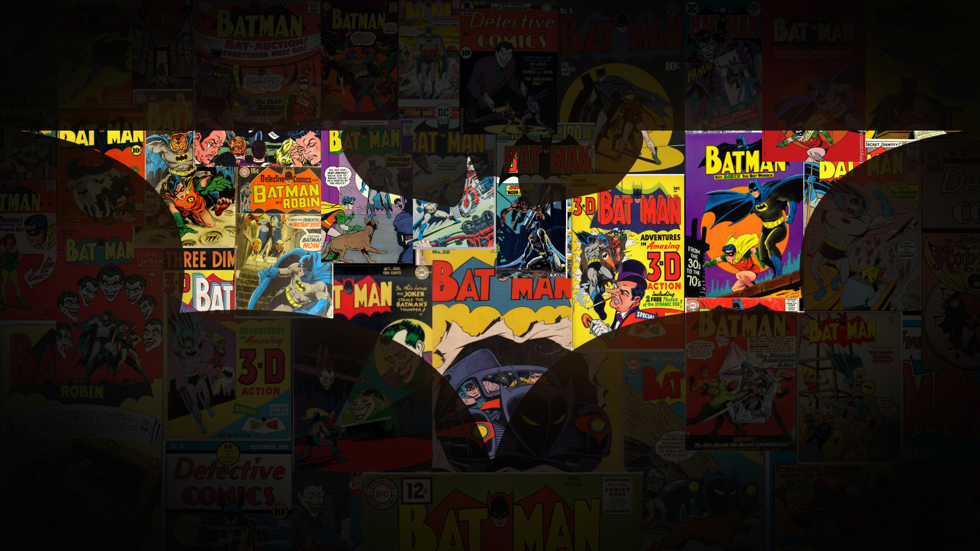 Batman Collage by Overlourd9 on DeviantArt
