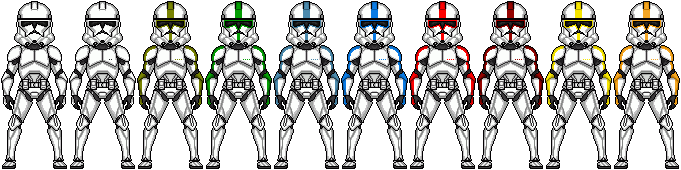 Phase II Clone Troopers by AlphaARC33Appo
